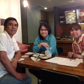 With Krisette and Ace for Pampanga Bloggers - first meet up ever